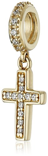 Chamilia 14K Gold Brilliance Pave' Cr…