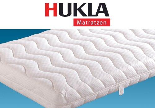Hukla Bari 7-Zonen-Kaltschaum-Matratze mit Waterpur®-Kern, Größen Matratzen:200 x 210 cm;Härtegrad Matratzen:F3