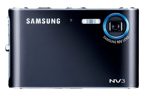 Samsung NV3 7.2MP Digital Camera with 3x Optical Zoom with Advance Shake Reduction