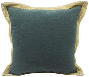 Newport Espadrille Decorative Pillow : Amazon.com: Newport Layton Home Fashions Espadrille Polyester Filled Pillow with Jute Flange, 20 ...