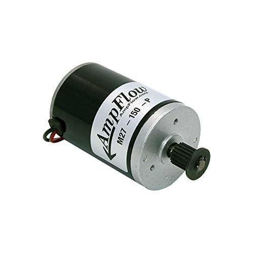 AmpFlow M27-150-P Brushed Electric Motor, 150W, 12V, 24V or 36 VDC, 3800 rpm by AmpFlow