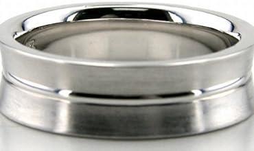 Designer Wedding Bands Platinum Wedding Ring 600mm PLT-DC27121238