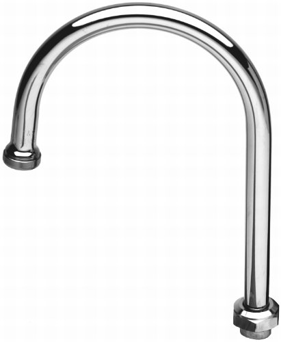 TS Brass 133X Swivel Gooseneck Spout, Chrome (Culinary Faucet compare prices)