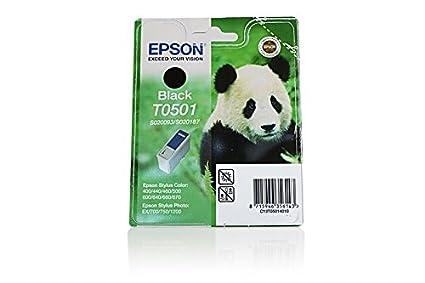 Epson Stylus Color 400 - Original Epson C13T05014010 / T0501 - Cartouche d'encre Noir -