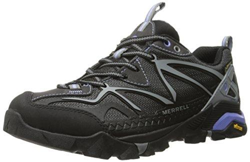 Merrell - Capra Sport Gtx, Scarpe Da Trekking da donna, nero (black/grey), 39