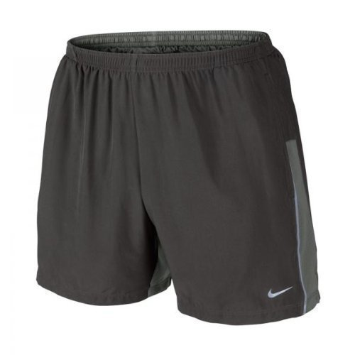 Nike Herren 5inch Stretch Woven Short Laufen: Zeitungspapier / Mercury Grey: XL