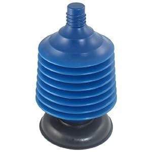 plastic toilet uncloging manual pump suction plunger blue black kitchen tool sets. Black Bedroom Furniture Sets. Home Design Ideas