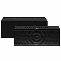 Bluetooth Speaker, LigerÃ'® Portable Wireless Bluetooth Speaker with Built in Speakerphone 8 hour Rechargeable Battery - For Apple iPhone 6 , 6 Plus , iPhone 5/5S/5C, iPad, iPad Air, iPad mini, iPod, Samsung Galaxy S5/S4/S3, T