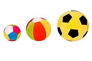 Lehar Toys Combo of Ball Mini, Ball Grande and Ball Jumbo