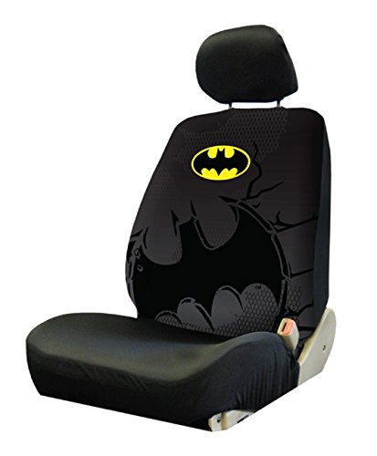 Plasticolor 008662R01 Warner Brothers Batman Shattered Low Back Seat Cover at Gotham City Store