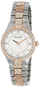 Pulsar Women's PH8058 Analog Display Japanese Quartz Gold Watch