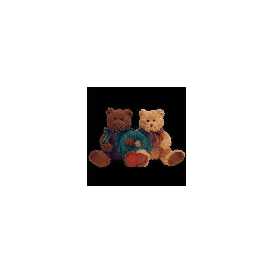 TY Beanie Babies MERRY KISS MAS the Holiday Bears (set of 2) on ... a24483f59ca7