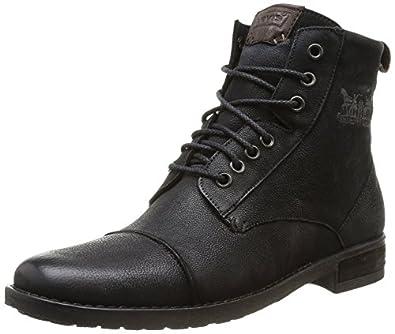 Levi's Maine Lace Up, Boots femme - Noir (Regular Black 59), 36 EU (3 UK)