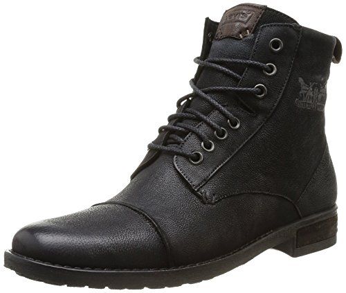Levi'sMaine Lace Up - Stivali Uomo, Nero (Noir (Regular Black 59)), 42