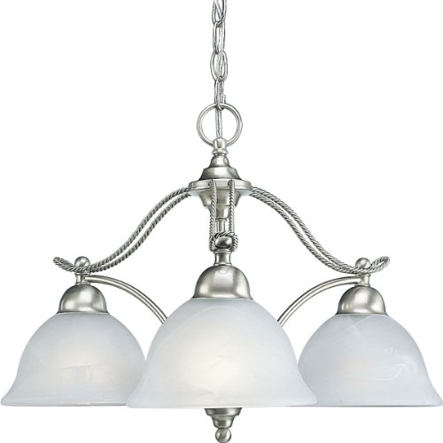 Compare Prices Progress Lighting P4070 09 3 Light Chandelier With