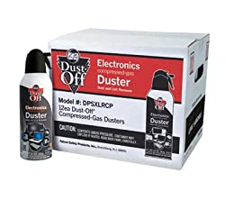 Falcon Safety Dust Off Aerosol Cleaner, 12-pack 10 oz. Cans DPSXLRCP