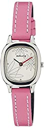 Sonata Yuva Analog White Dial Womens Watch - NF8060SL01