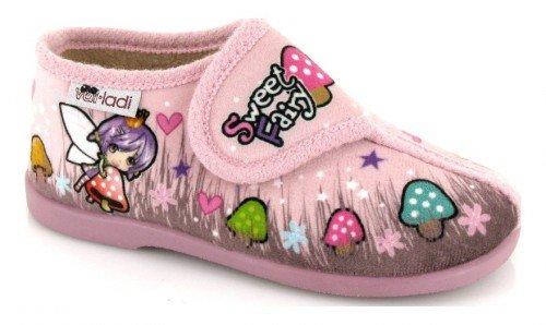 VUL-LADI, Pantofole bambine Rosa Rosa