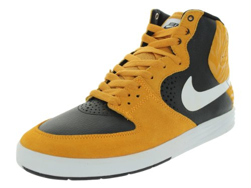 SP9Q0 Nike Men's Paul Rodriguez 7 High Laser Orange/White/Black Skate Shoe 9 Men US