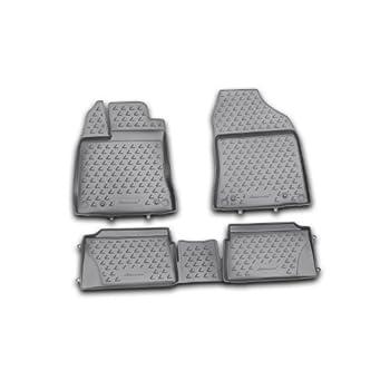 Four AWD 4 Piece Set Floor Liners Floor Mats Novline 05.15.210 BMW X1 xDrive 2011-2014 Black