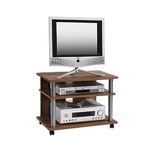 Mesa de comedor en melamina con apertura sb203gm muebles for Muebles tv amazon