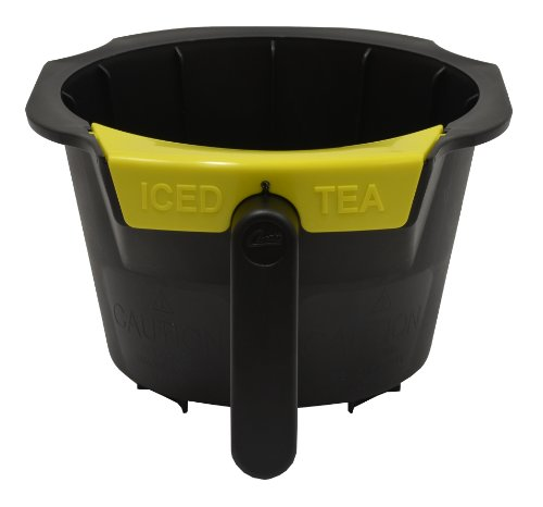 Wilbur Curtis  Brew Cone Assembly Tropical Tea with  Yellow Splash Pocket Strainer - Commercial-Grade Brew Basket - WC-3399 (Each)