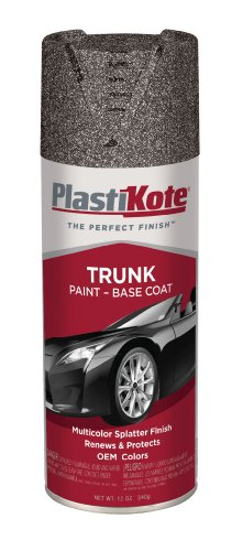 PlastiKote 503 Gray with Black and White Trunk Paint - 12 Oz.