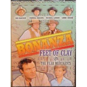 Bonanza: Feet of Clay [VHS]