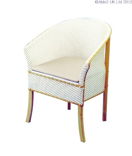 Basketweave Commode Chair [Personal Care]