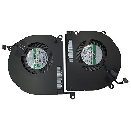 "A Pair Left and Right CPU Cooling Fan For Apple MacBook Pro 15"" A1286 (2008, 2009, 2010, 2011, 2012)"
