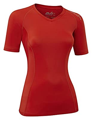 SUB Sports ELITE RX Womens Graduated Compression Top - Short Sleeve Base Layer