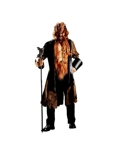 Adult Big Mad Wolf Costume