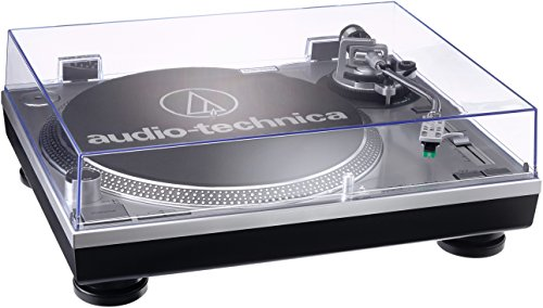 Audio-Technica AT-LP120USBHC Platine vinyle USB à entraînement direct Argent