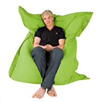 Hi-BagZ® 4-Way Bean Bag Lounger (LIME GREEN) - 100% Water Resistant