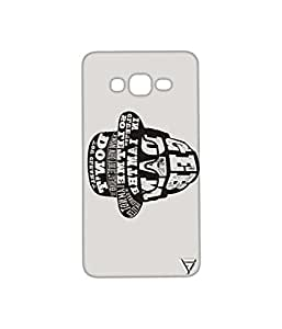 Vogueshell Typography Printed Symmetry PRO Series Hard Back Case for Samsung Galaxy Grand Prime
