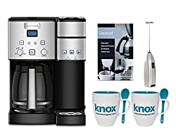 Cuisinart SS15 Premium Single Serve Coffeemaker + Knox Mugs + Frother + Descaler made by Cuisinart