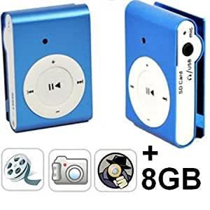 Mini spy cam camera espion MP3 style Ipod + Ecouteurs