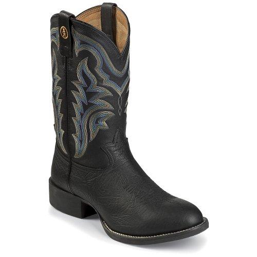 Tony Lama RR1104 Men's Black Shoulder 11-inch Boot