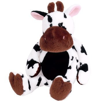 TY Beanie Baby - TIPSY the Cow