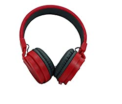 BYTE CORSECA DMHW 3213 RED STEREO WIRED HEADPHONE WITH MIC 3.5