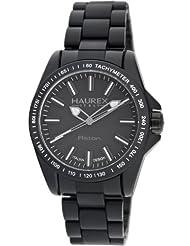 Haurex Italy Men's N7366UNN Aston Classical Black Watch