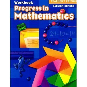 Progress in Mathematics, Teacher's Edition Workbook