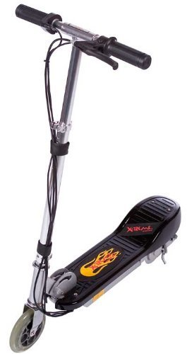 X-Treme Scooters Kids Electric Scooter, Black
