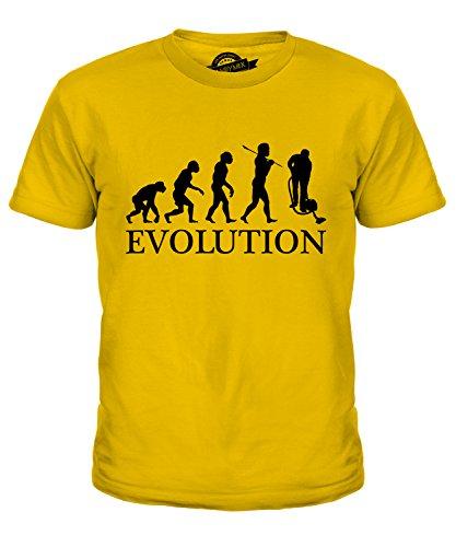 candymix-addetto-alle-pulizie-evoluzione-umana-unisex-bambino-ragazzi-ragazze-t-shirt-taglia-8-anni-