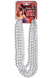 Necklace Pearl Costume Item Roaring 20s Flapper Beads