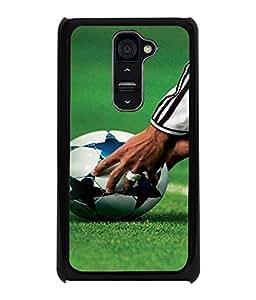 Printvisa Star Designed Football Pic Back Case Cover for LG G2::LG G2 D800 D980