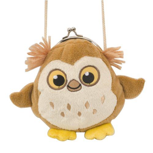 Wild Republic 16cm Clasp Purse Owl Plush