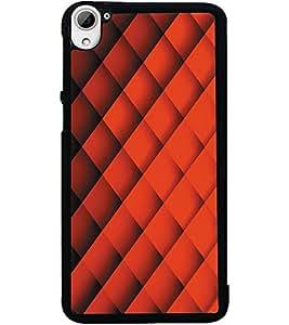 ColourCraft Pattern Design Back Case Cover for HTC DESIRE 826