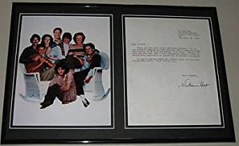 William Hurt Signed Framed Letter & Photo Display The Big Chill
