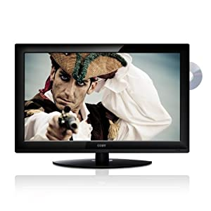 Coby TFDVD3299 32-Inch 720p 60Hz Widescreen LCD HDTV/Monitor with DVD Player (Black)